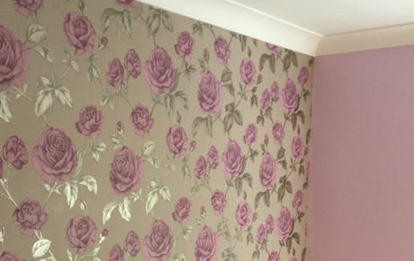 residential feature wallpaper